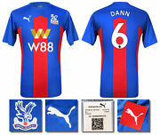 2020 2021 Bnwt Crystal Palace Home Shirt Dann 6 = Menand039s Sizes