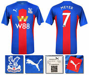 2020 2021 Bnwt Crystal Palace Home Shirt Meyer 7 = Menand039s Sizes