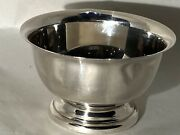 """Sterling Silver 4"""" X 2-1/2"""" Paul Revere Bowl By Poole. 92grams"""