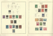 Hawaii 1857-1896 Stamp Collection On 6 Scott Specialty Pages, Jfz