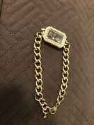 Origami Owl Bracelet Gold With Pearls And Charms