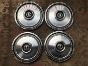 1966-1967 Plymouth Valiant Barracuda 13 Inch Hubcaps Set Of 4