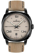 Watch Man Anonimo Epurato Am400002229k19 Leather Brown Leather