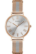 Watch Woman Guess Grace W1155l4 Of Stainless Steel Plated Gold Rose