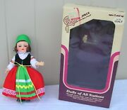 Dream Maker Dolls Dolls Of All Nations Italy Never Been Used