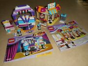 Lego Friends 41004 Stage And 41006 Downtown Bake Near Complete With Instructions