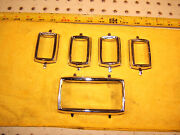 Mercedes W111 Early W108,w109 Front Back Doors Window Electric Switchs 5 Covers