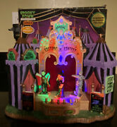 2007 Lemax Spooky Town Costume Contest Halloween Village Animated Lights Sound