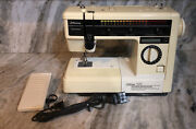 Jcpenney 7029 Sewing Machine W Foot Pedal-tested-rare Vintage Collectible-ship24