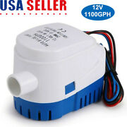 Automatic Submersible Boat Bilge Water Pump 12v 1100gph W/ Built In Float Switch