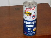 Vintage Sunoco Dx Outboard Motor Oil 50-1 Unopened 16 Oz Can
