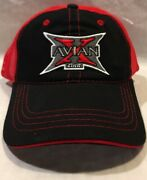 New Avian X Zink Duck And Goose Calls Black And Red Mesh Baseball Truckers Hat Cap