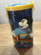 Disney Mickey Mouse Figurine Soft Toy Plush Rare Retired Brave Tailor Mickey