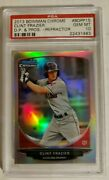 Clint Frazier Rc 2013 Bowman Draft Picks And Prospects Silver Refractor Psa10
