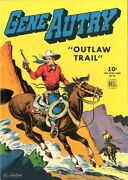 Four Color 83  Gene Autry Outlaw Trail  Nm-   Series Ll