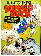 Four Color  147  Vgf  Donald Duck In Volcano Valley  May 1947