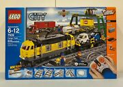 Lego City 7939 Cargo Train 839 Pieces Power Functions - New Sealed