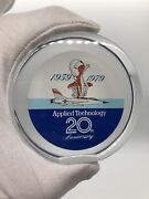Fighter Jet Applied Technology Airplane Lucite Advertising Paperweight Vintage