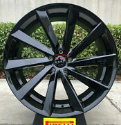 22and039and039 Giovanna Kapan Gloss Black Tires Mercedes Gle Bmw X5 X6 Staggered New Rims