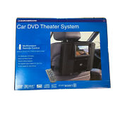 """Car Dvd Theater System 6.5"""" Durabrand Widescreen Remote Anti-shock System New"""