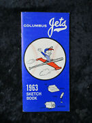 Vintage 1963 Columbus Jets Sketch Book Press Guide With Willie Stargell 1534