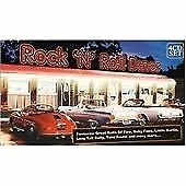 Various Artists Rock 'n' Roll Diner Cd 4 Discs 2005 Free Shipping, Save £s