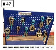 Auto Body Frame Machine Tools Heavy 10 Piece Clamps Mega Set Special Pricing