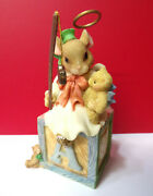 Priscilla's Mouse Tales Angels We Have Heard On High Enesco Figurine