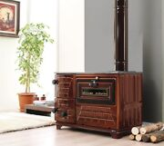 Indoor/outdoor Wood Burning Cast Iron Pizza Oven And Stove And Grill