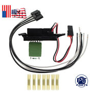 A/c Blower Motor Resistor W/ Wire Harness For 99-06 Cadillac Escalade Ja1582