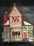Dept. 56 1998 Dickens' Village Series Nettie Quinn Puppets And Marionettes