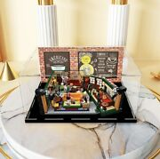 Acrylic Display Case For Lego 21319 Ideas Central Perk Building W/ Background
