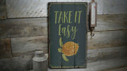 Beach Turtle Vintage Distressed Sign, Personalized Wood Sign
