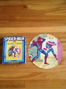 Spiderman With Captain America Puzzle 1970's , Hg Toys