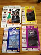 Batman And Robin 1998 Kelloggs Cereal Boxes With Lenticular Cards Canadian
