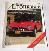 Collectible Automobile Magazine 1,may 1984