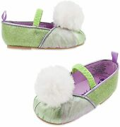 Disney Store Tinker Bell Tinkerbell Costume Shoes Baby 6 - 12 Months Fairy New