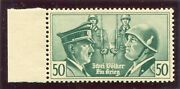 Germany 3rd Reich Propaganda Forgery Hitler Mussolini Perfect Mnh Pieles Cert