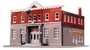 N Scale - Police Station Building Kit 433-7481