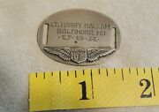 Wwi - Wwii Dog Tag Bracelet - Army Air Corps Pilot Wings