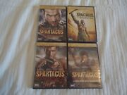 Spartacus War Of The Damned, Gods Of The Arena, Vengeance, Blood And Sand Dvd