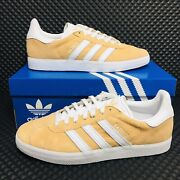 Adidas Originals Gazelle Womenandrsquos Tennis Shoes Athletic Suede Sneakers Trainers