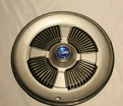 Vintage Ford Galaxie 1965 Classic Hubcaps 15 Wheel Cover Blue Center