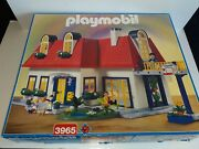 Playmobil 3965 Suburban House Incomplete Missing People And Some Small Pieces