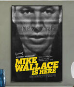 389c2 Mike Wallace Is Here Documentary Movie Print Art Silk Cloth Poster Deco