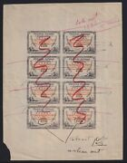 Canada C.1928 Patricia Airways Semi-official Airmail Artistsandrsquo Transition Proof