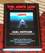 Jaws Log Carl Gottlieb 30th Anniversary Hardcover Hc Book Excellent