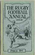 1919-20 Rugby Football Annual 3rd Edition - Soft Cover Rugby Book