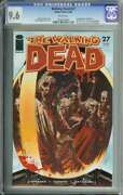 Walking Dead 27 Cgc 9.6 White Pages // 1st Appearance Of The Governor