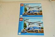Lego City Instructions Manual - Set 4439 Helicopter Heavy Police